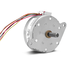 PM STEPPING GEARED MOTOR
